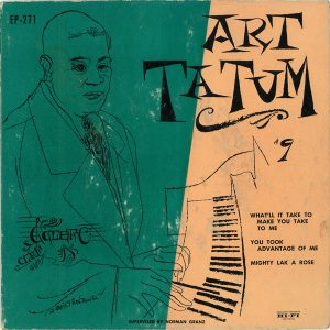 Art Tatum #9 - Clef records