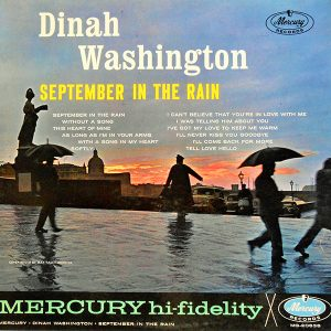 September in Rain - Dinah Washington